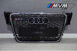 Parrilla Audi A4 B8 Look RS4 Black