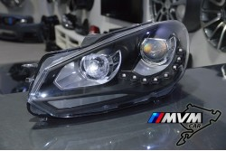 Faros Led Volkswagen Golf VI Black
