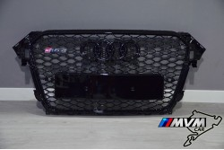 Parrilla Audi A4 B8 Facelift Mod RS4 Black