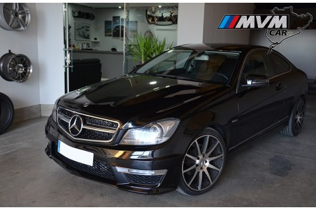 Mercedes Benz Clase C Coupe C220 - Vendido