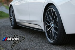 Añadidos de taloneras laterales Bmw Serie 3 F30 M Performance