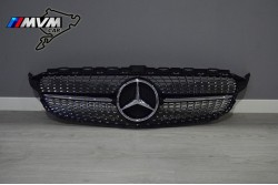Parrilla Mercedes Clase C W205 look Black Diamond