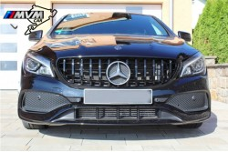 Parrilla Panamericana Mercedes CLA Black edition